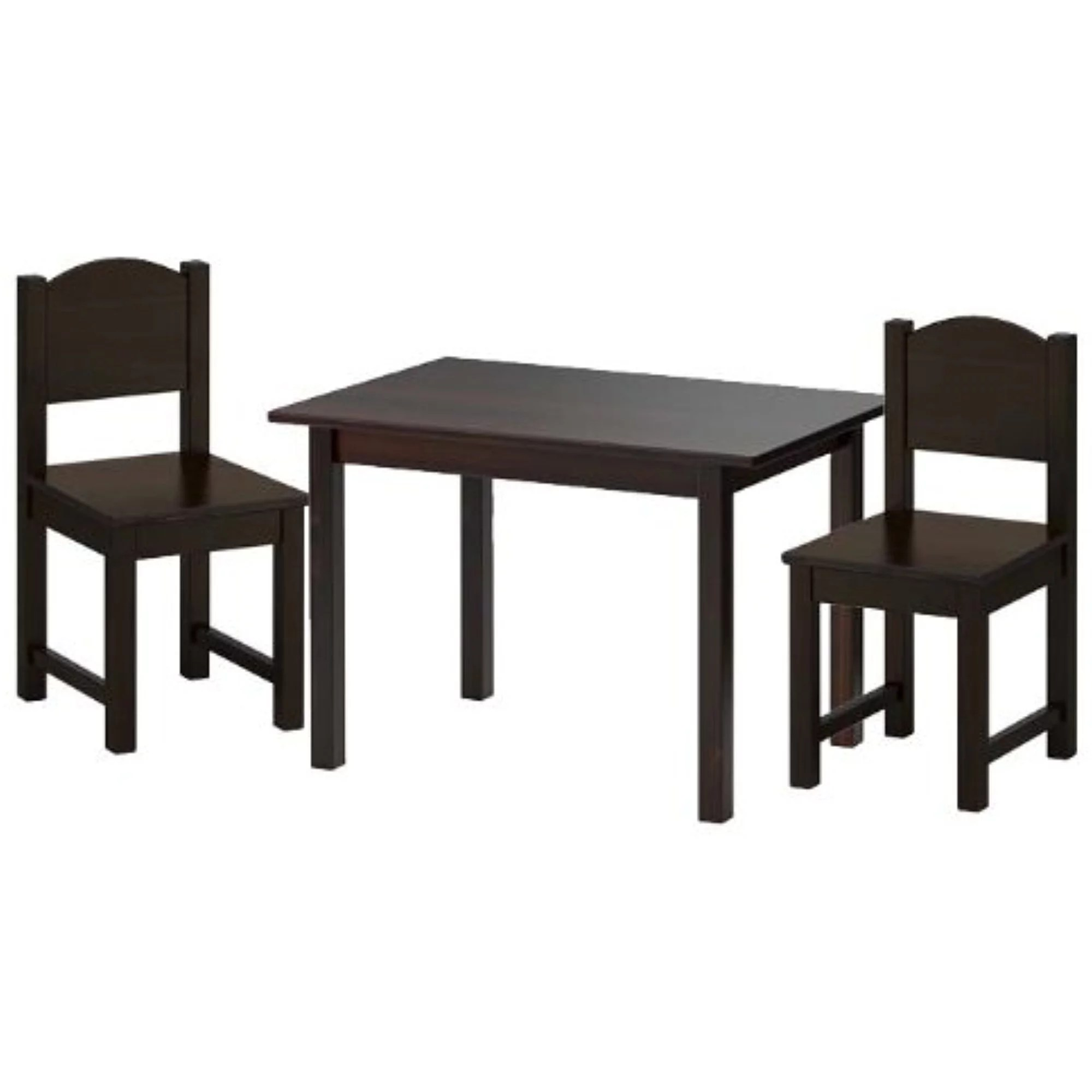 Ikea Black Chair Ikea Sundvik Children S Table And 2 Chairs Set Black Brown 38210 5223 1616