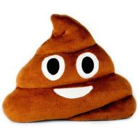 Throwboy The Original Emoji Pillows - Poop - Walmart.com