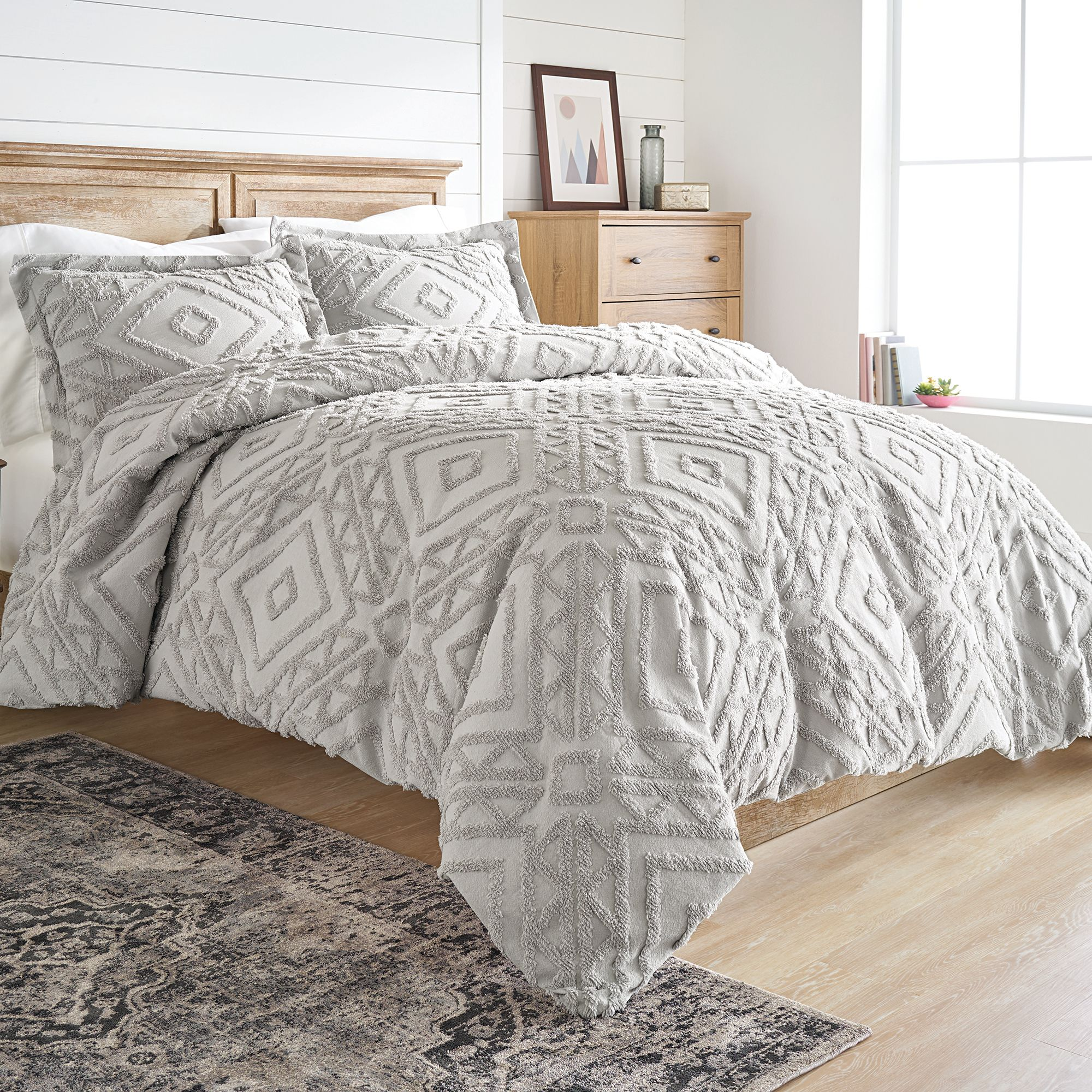 Duvet And Cover Better Homes And Gardens 3 Piece Chenille Duvet Cover Set