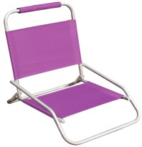 Hawaiian Tropic one position folding beach chair