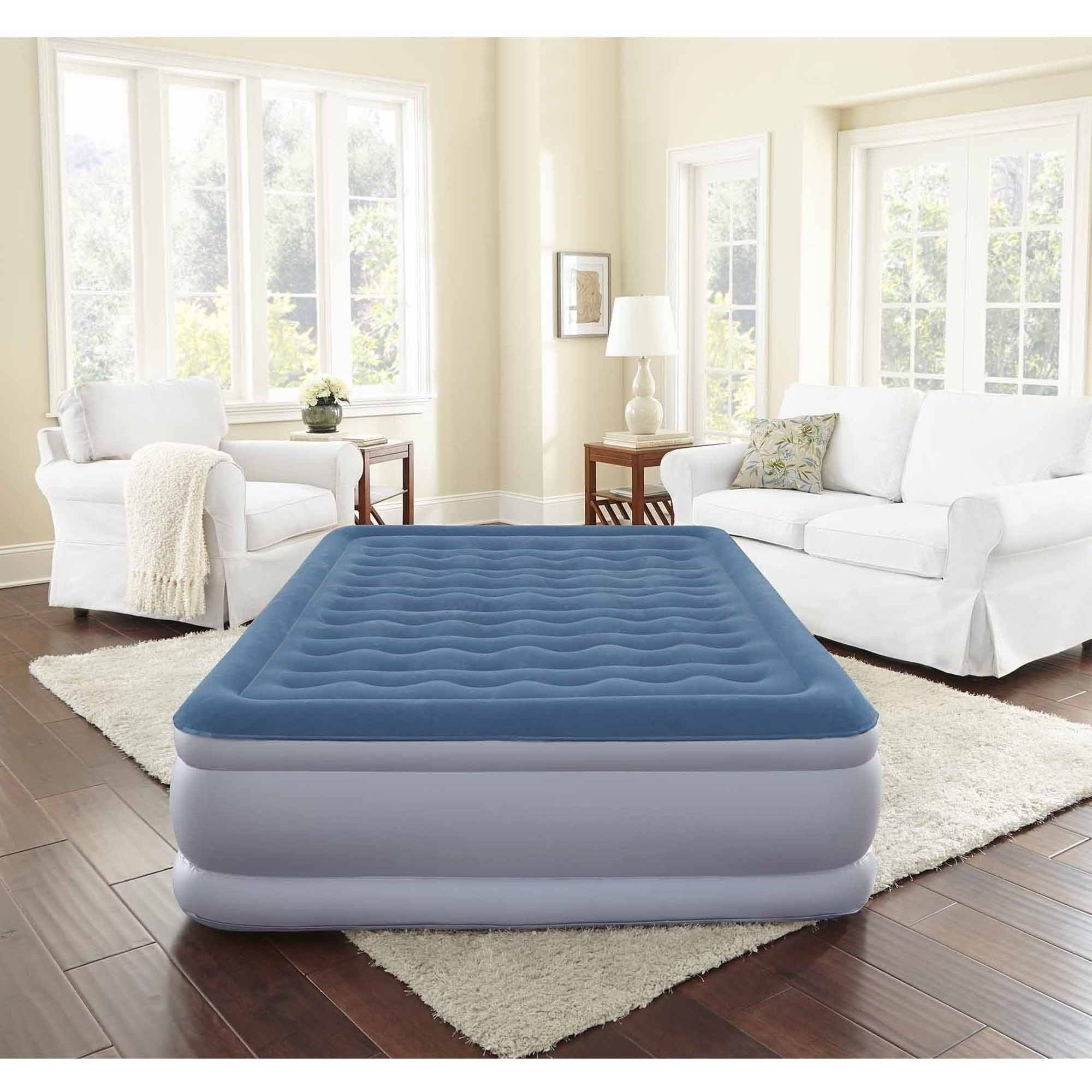 Air Mattress Frame Queen Beautyrest Silver Extraordinaire Raised Air Mattress With Iflex Support Internal Pump Multiple Sizes 1 Each
