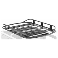 Smittybilt 76715 SRC Roof Rack; Black Textured; No Drill