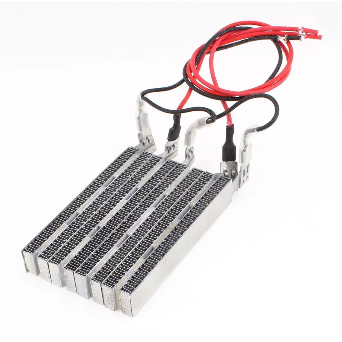 Ac 220v 1200w Electric Ceramic Thermostatic Ptc Heating