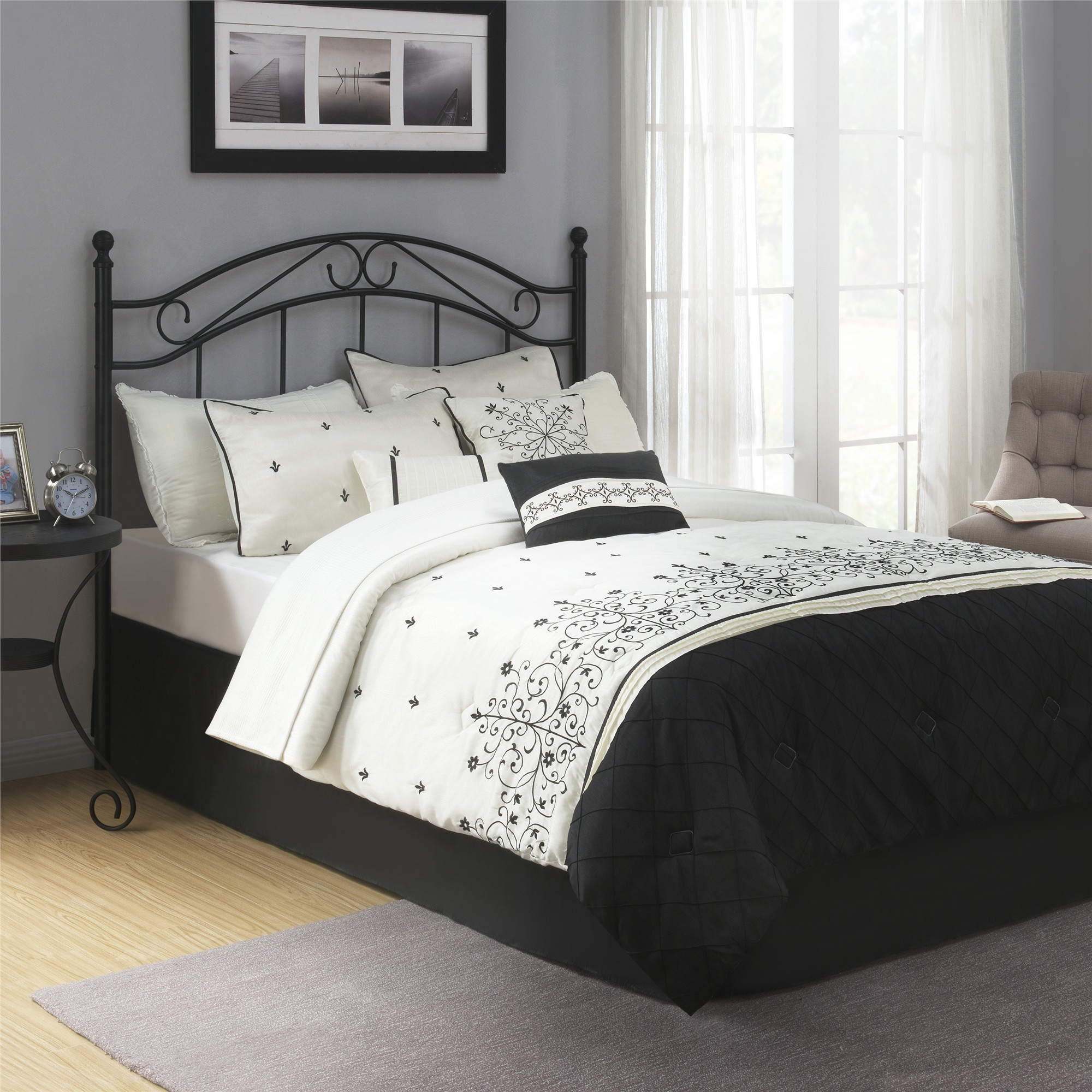 Queen Bed Sale Mainstays Full Queen Metal Headboard Multiple Colors