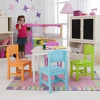 KidKraft Nantucket Big N Bright Table and Chair Set ...