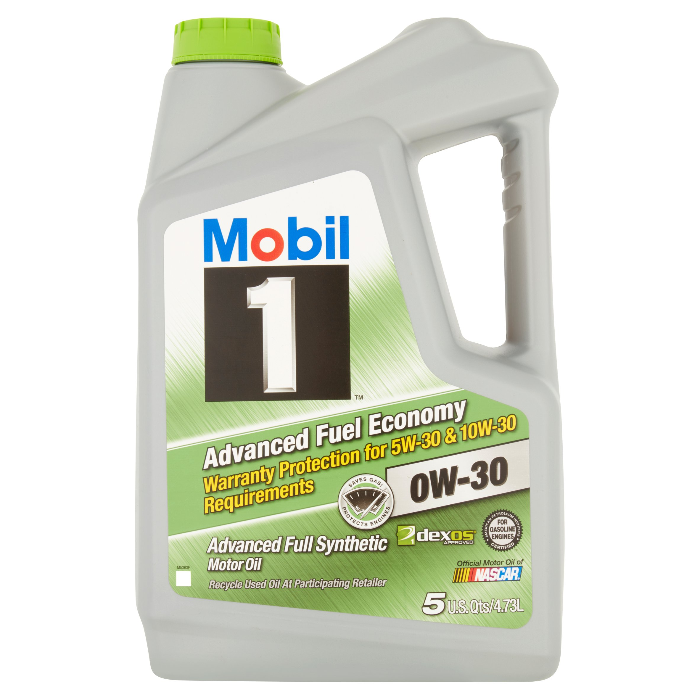 Syn Oil Mobil 1 Advanced Full Synthetic Motor Oil 5w 20 5 Qt