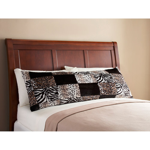 Mainstays Fur Body Pillow Cover Walmartcom