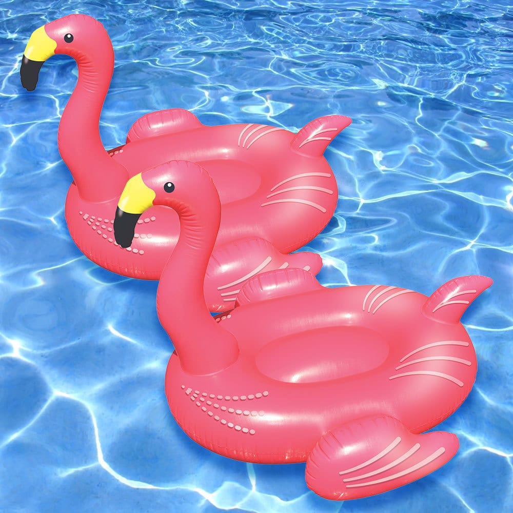 Flamingo Pool Dates Swimline Giant Flamingo Float For Swimming Pools Pack Of 2