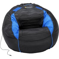 Kahuna Sound Child Gaming Chair Bean Bag, Black and Blue ...