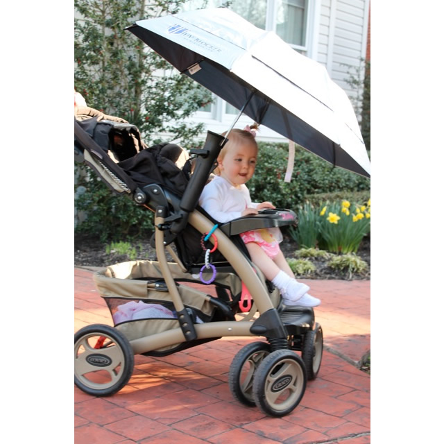 Umbrella Holder for Stroller, Chair or Wheelchair
