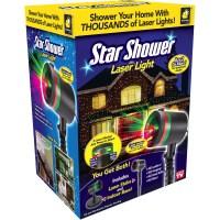 As Seen On TV Outdoor Light Decoration Star Shower Laser ...