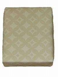 Sami Hayek Rich Golden Tan Cotton Sheet Set Twin XL Bed