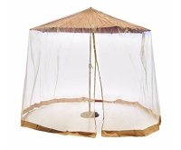 Southern Casual Living Canopy Patio Umbrella Mosquito ...