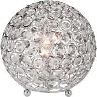 Elegant Designs Crystal Ball Table Lamp - Walmart.com