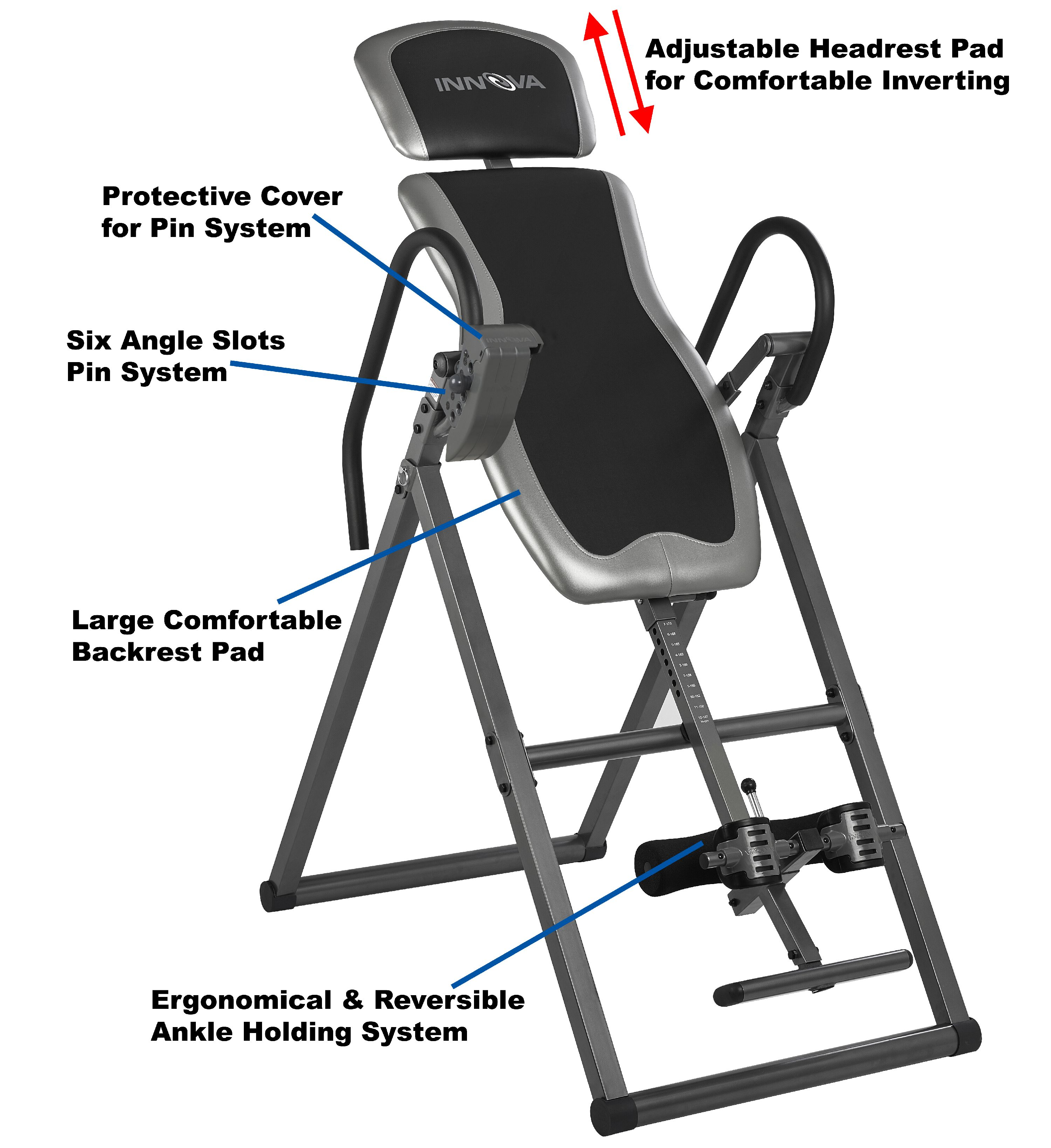 Table D Inversion Occasion Innova Heavy Duty Fitness Inversion Therapy Table Itx9600