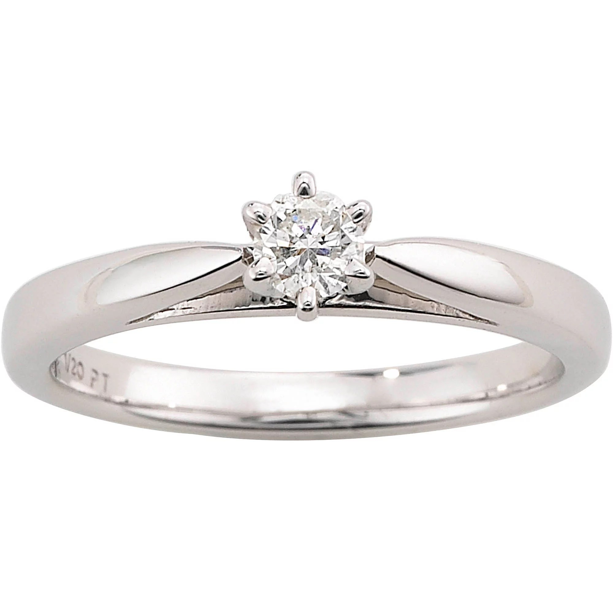 Always & Forever Platinaire 1/5 Carat Diamond Round