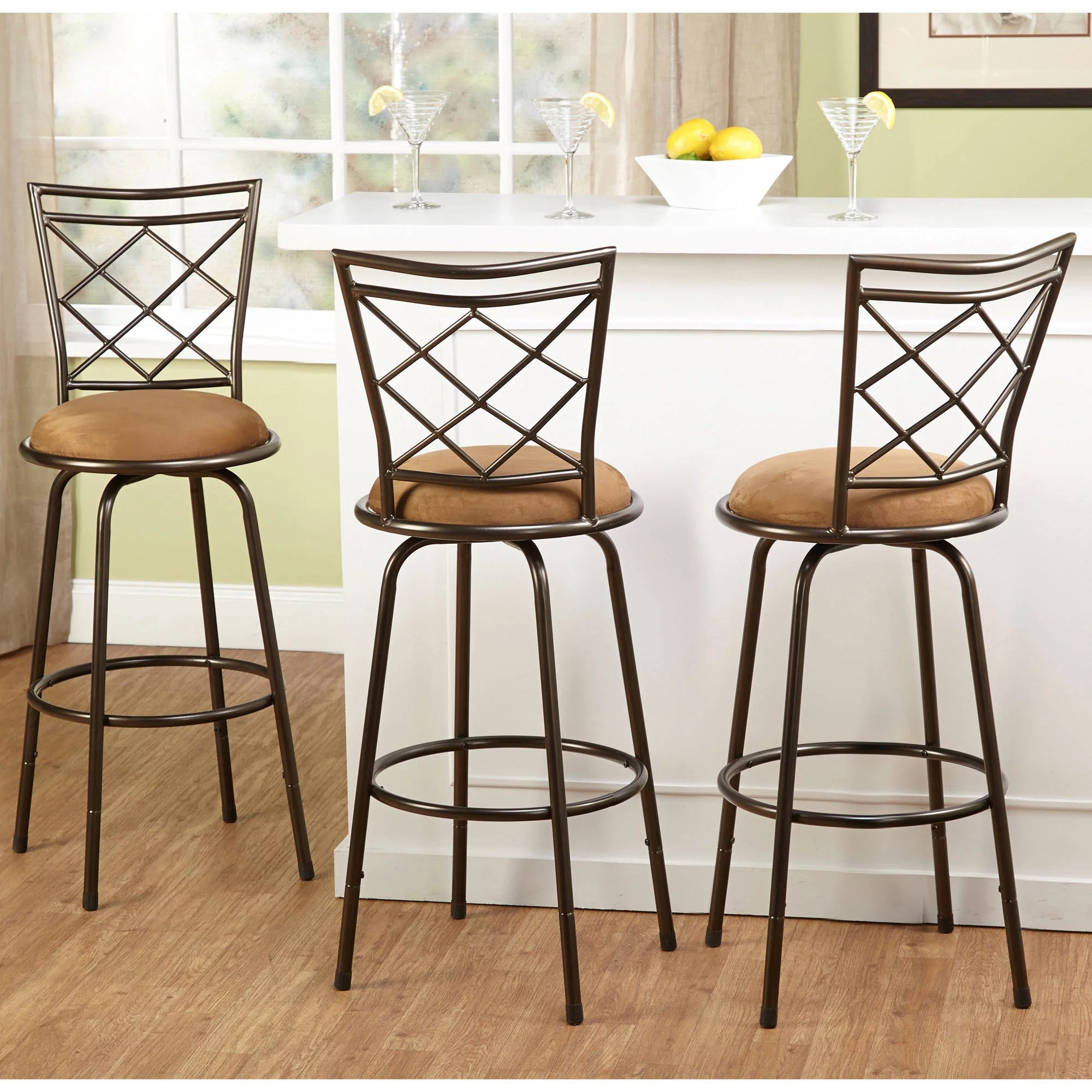 Kitchen Bar Stools On Sale Tms Avery Adjustable Height Bar Stool Multiple Colors Set Of 3