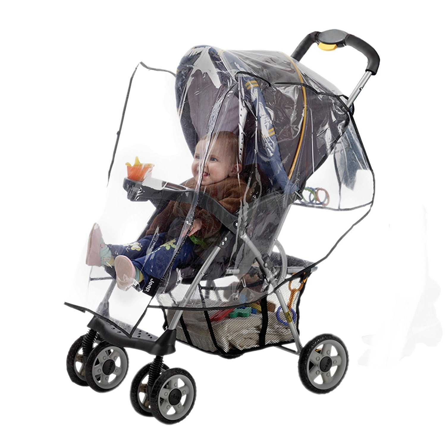 Jogging Stroller Weather Shield Jeep Universal Standard Stroller Weather Shield