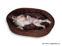 """33"""" Large Dog Bed King USA Cuddler. Fits Pets Up To 60 lbs ..."""