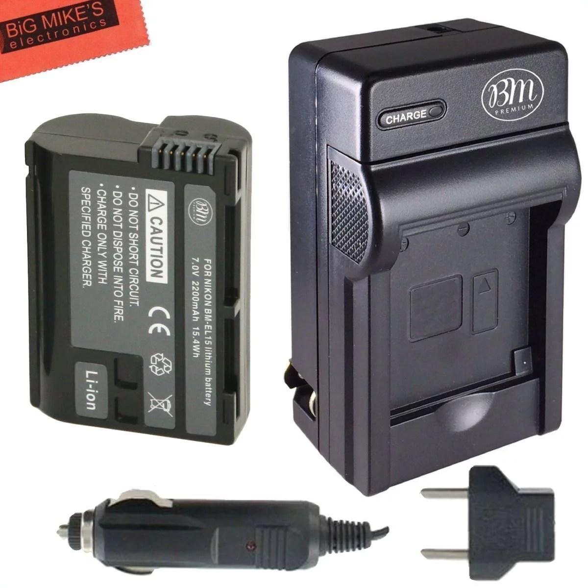 Traditional Nikon Slr Bm Premium Battery Battery Charger Bm Premium Battery Nikon En El15 Charger En El15a Review Battery Charger dpreview En El15