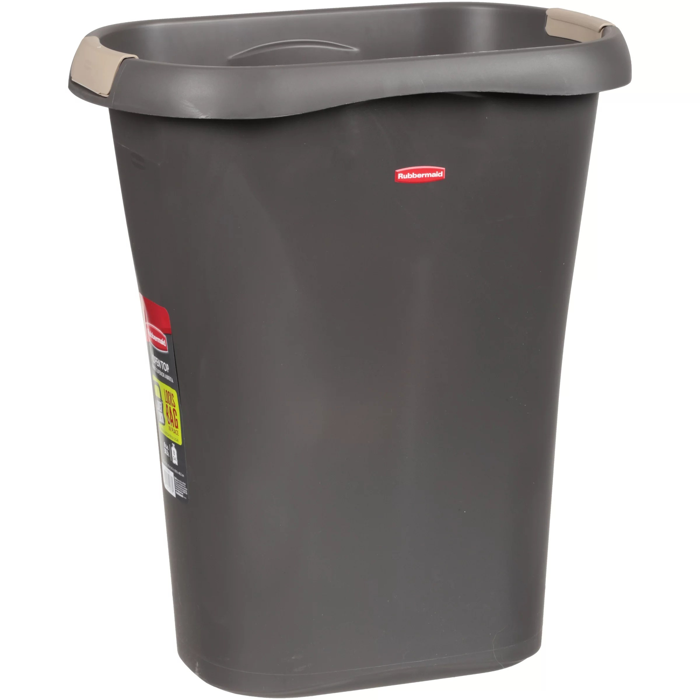 Kitchen Tidy Bins Rubbermaid Open Top 8 Gallon Trash Can