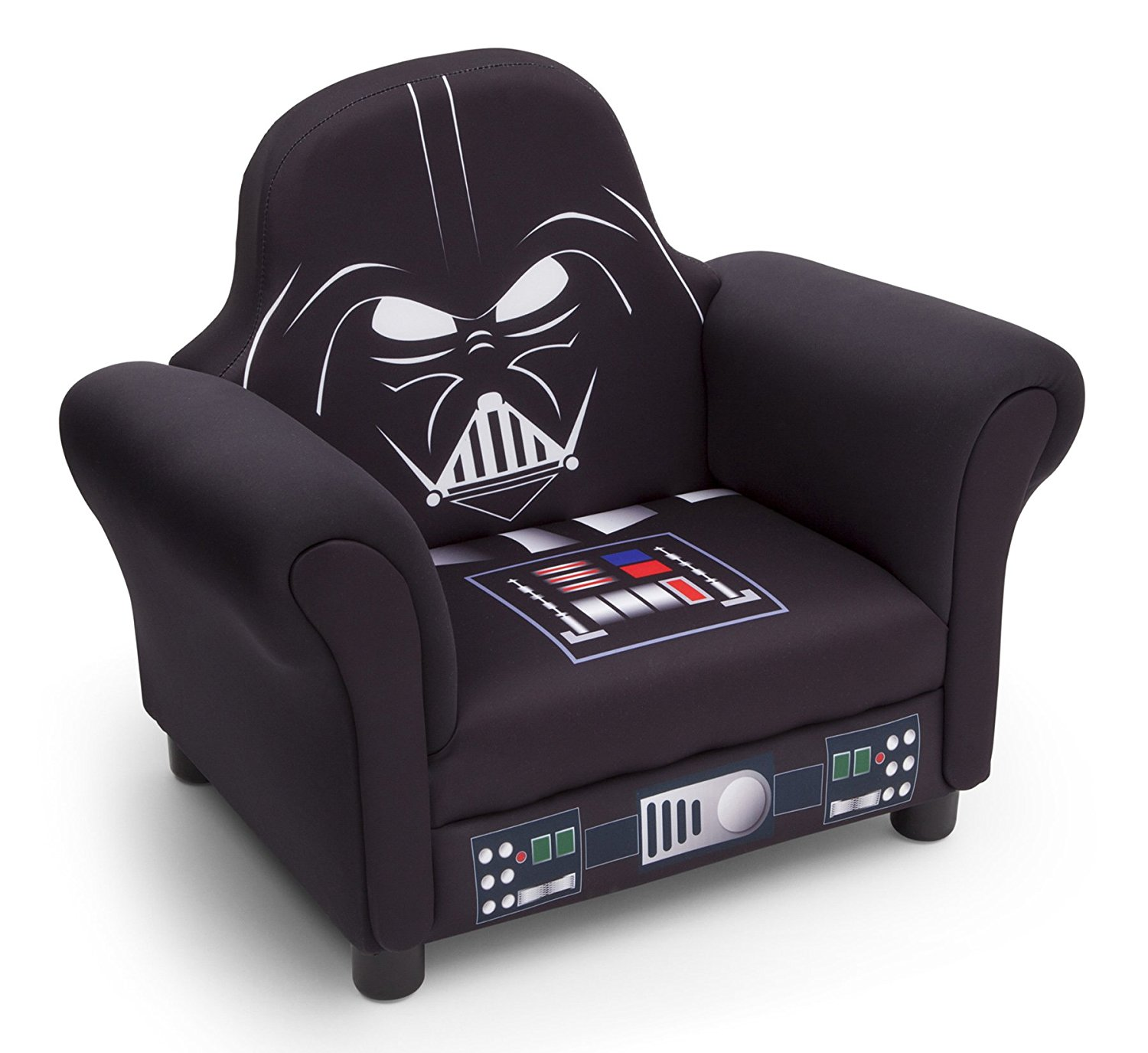 Upholstered Children's Chairs Delta Children Star Wars Deluxe Upholstered Chair Darth Vader