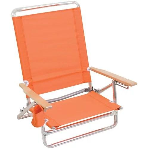 Mainstays Lay Flat Beach Chair Phoenix Sun Walmartcom