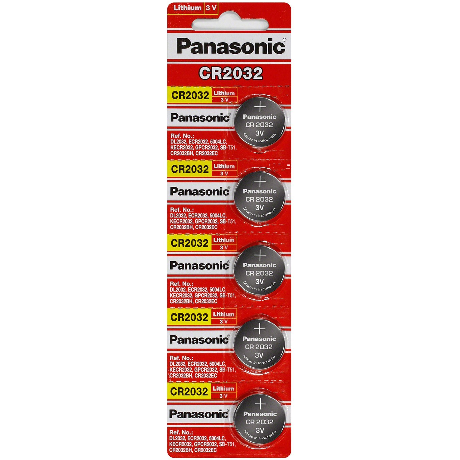 Batterie Cr2032 Cr2032 Panasonic 5 Pack
