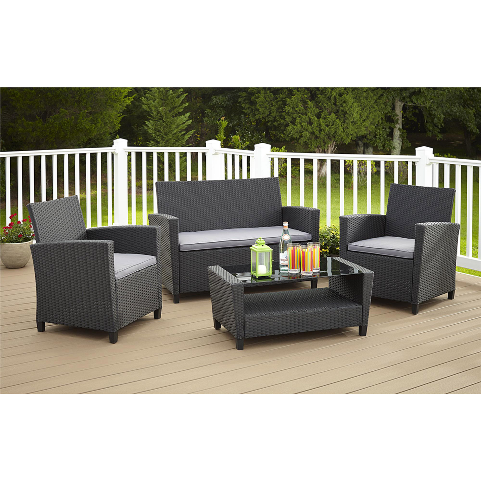Outdoor Living Patio Furniture Walmart Com - Garden Furniture Clearance Warehouse