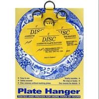 Flatirons Disc Adhesive Medium Plate Hanger Set (4 - 3 ...