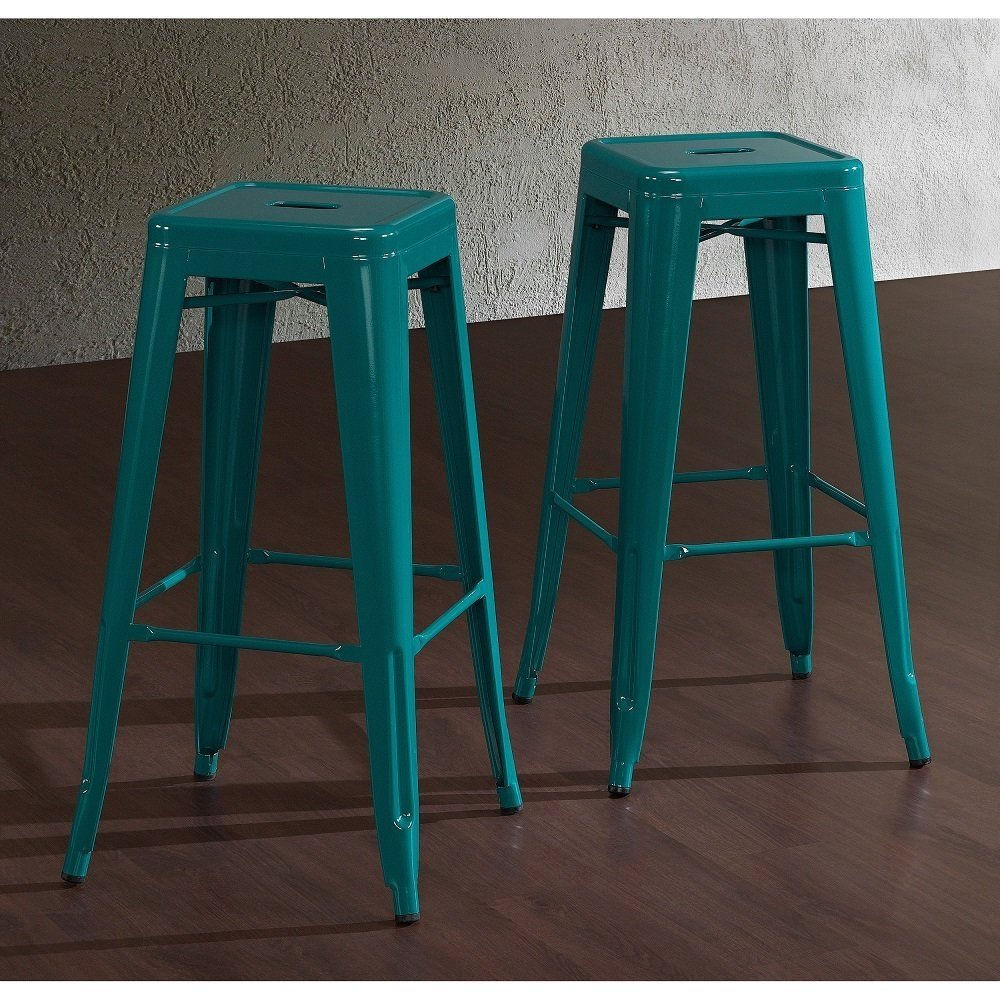 Tabourets Walmart Tabouret 30 Inch Peacock Bar Stools Set Of 2