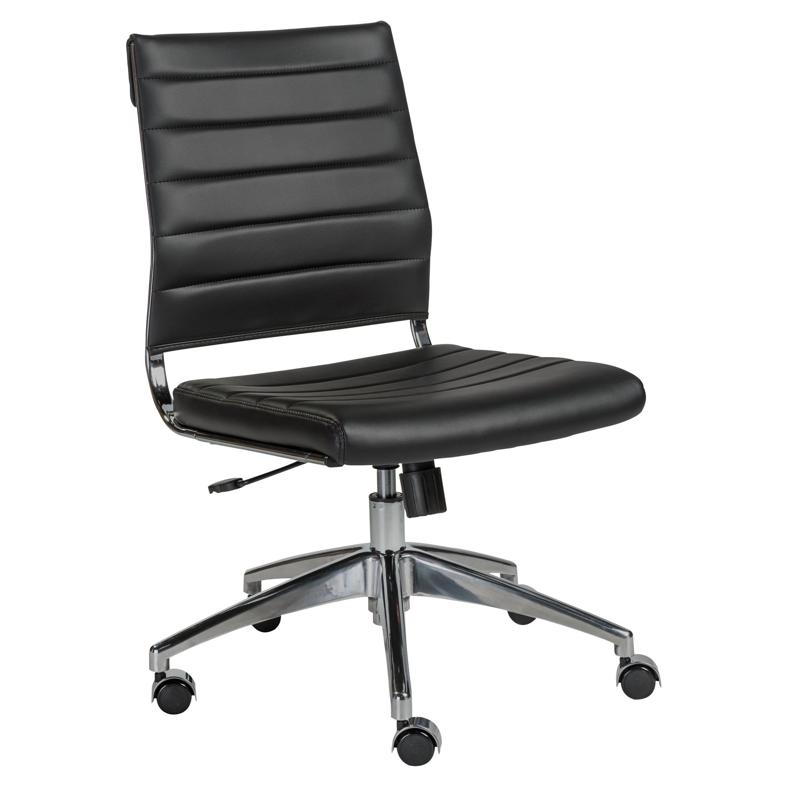 Euro Style Axel Low Back Office Chair Walmartcom