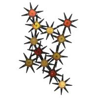 StyleCraft Starburst Metal Wall Art - Walmart.com