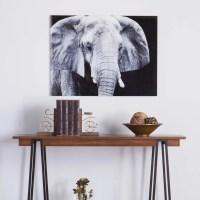 Southern Enterprises Elephant Glass Wall Art - Walmart.com