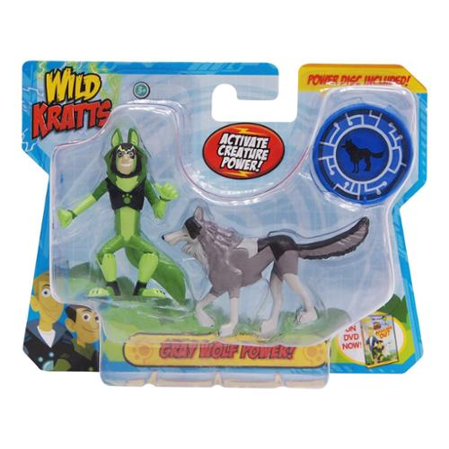 Wicked Cool Toys Wild Kratts Animal Power 2 Pack Figure