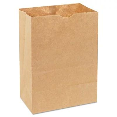 1 8 Bbl 52 Paper Bag Natural Grocery Sack 500 Bundle