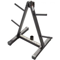 Gold's Gym Weight Plate and Barbell Storage Rack - Walmart.com