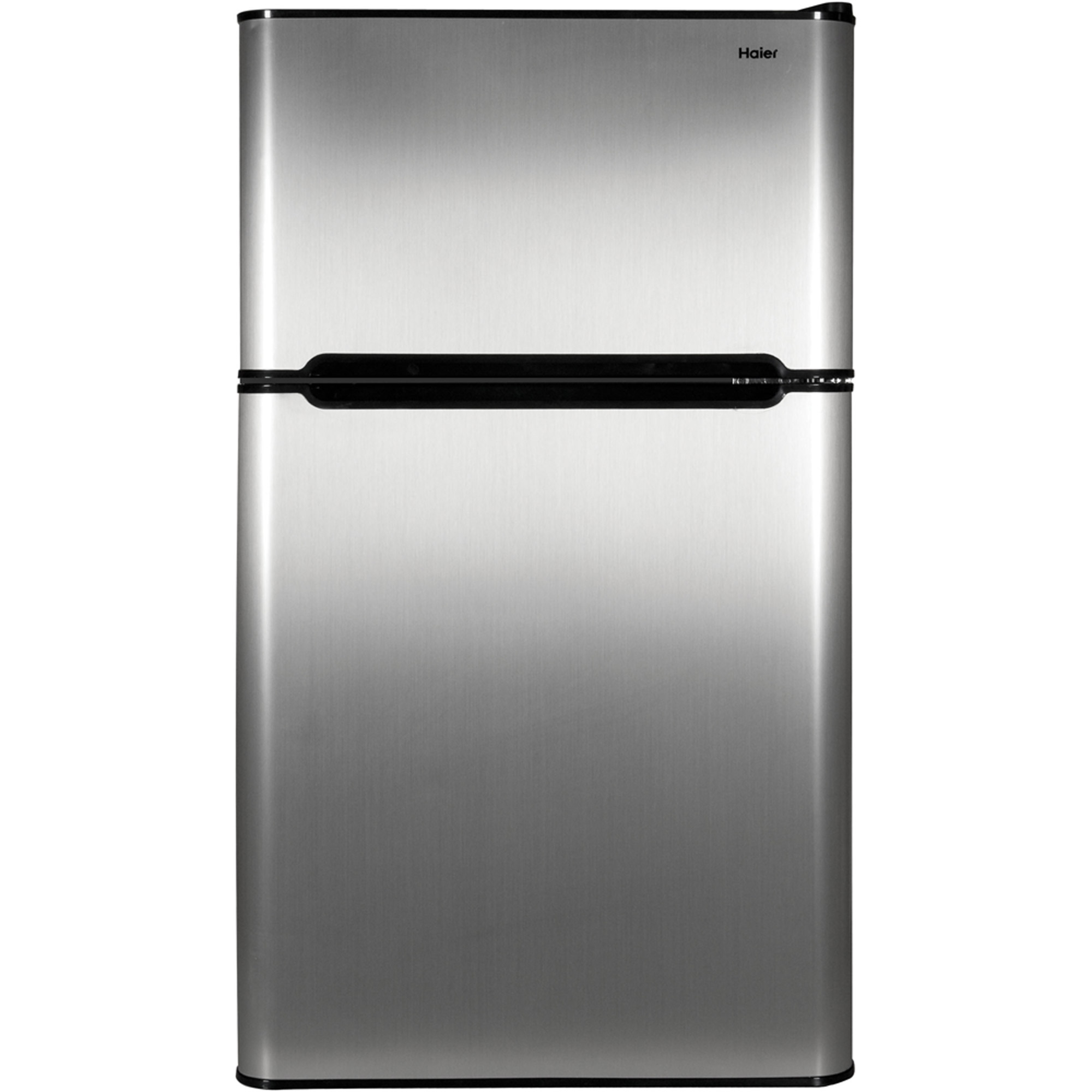 14 Cu Ft Refrigerator Haier 3 2 Cu Ft Two Door Refrigerator With Freezer Hc32tw10sv Black