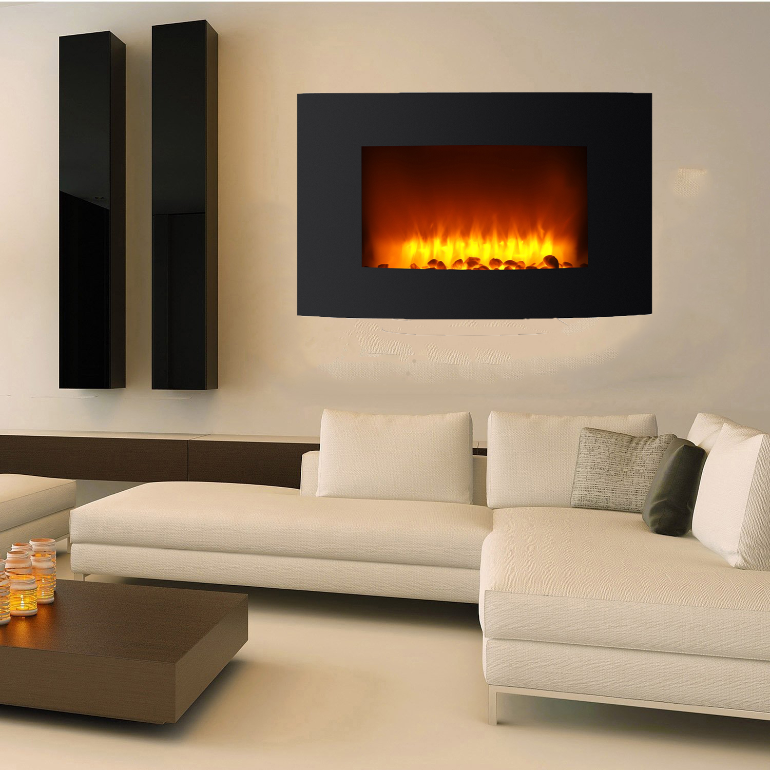 Living Room Electric Fireplace Ktaxon 36