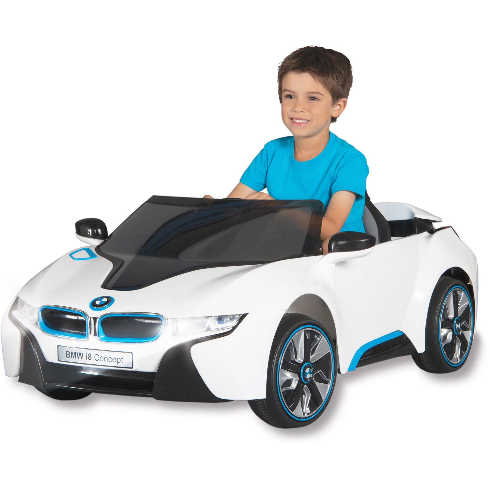 Big W Toy Cars Bmw I8 Concept Car 6 Volt Battery Powered Ride On