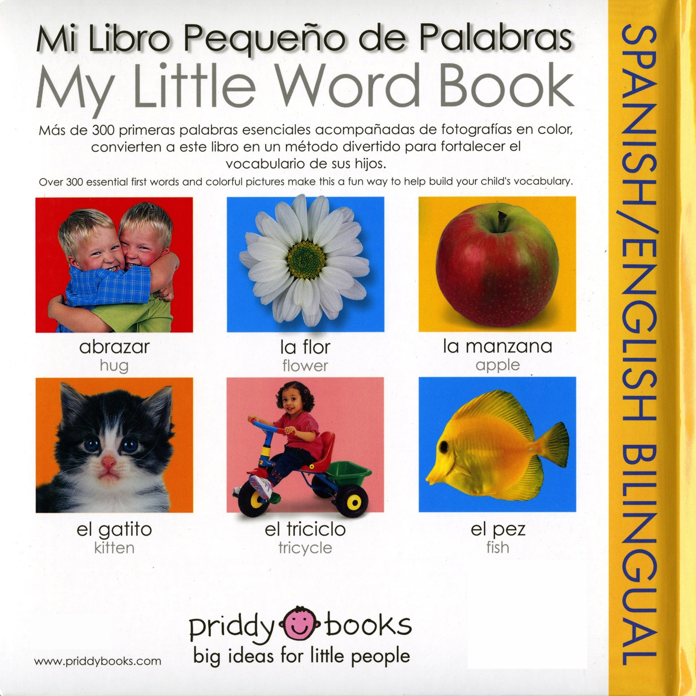 Big Fish Libro My Little Word Book Bilingual Spanish English Bilingual