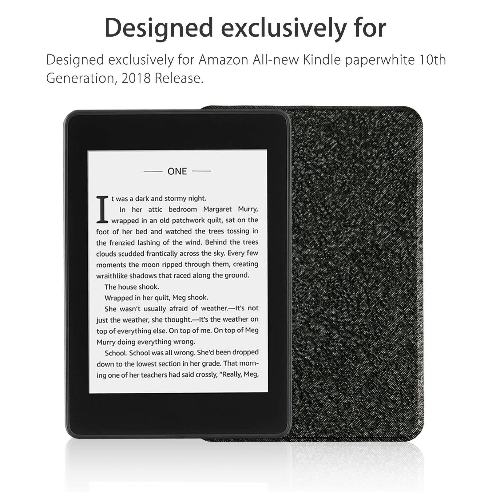 Amazon Kindle Leather Case Cover For Amazon Kindle Paperwhite 4 10th Generation 2018 Releases Lightweight Shell Cover With Auto Wake Sleep For Amazon Kindle