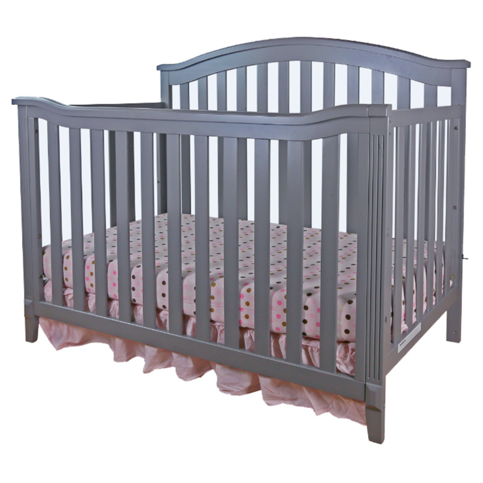Crib Guard Rail Kali 4 In 1 Convertible Crib Gray Guardrail Is Not Included