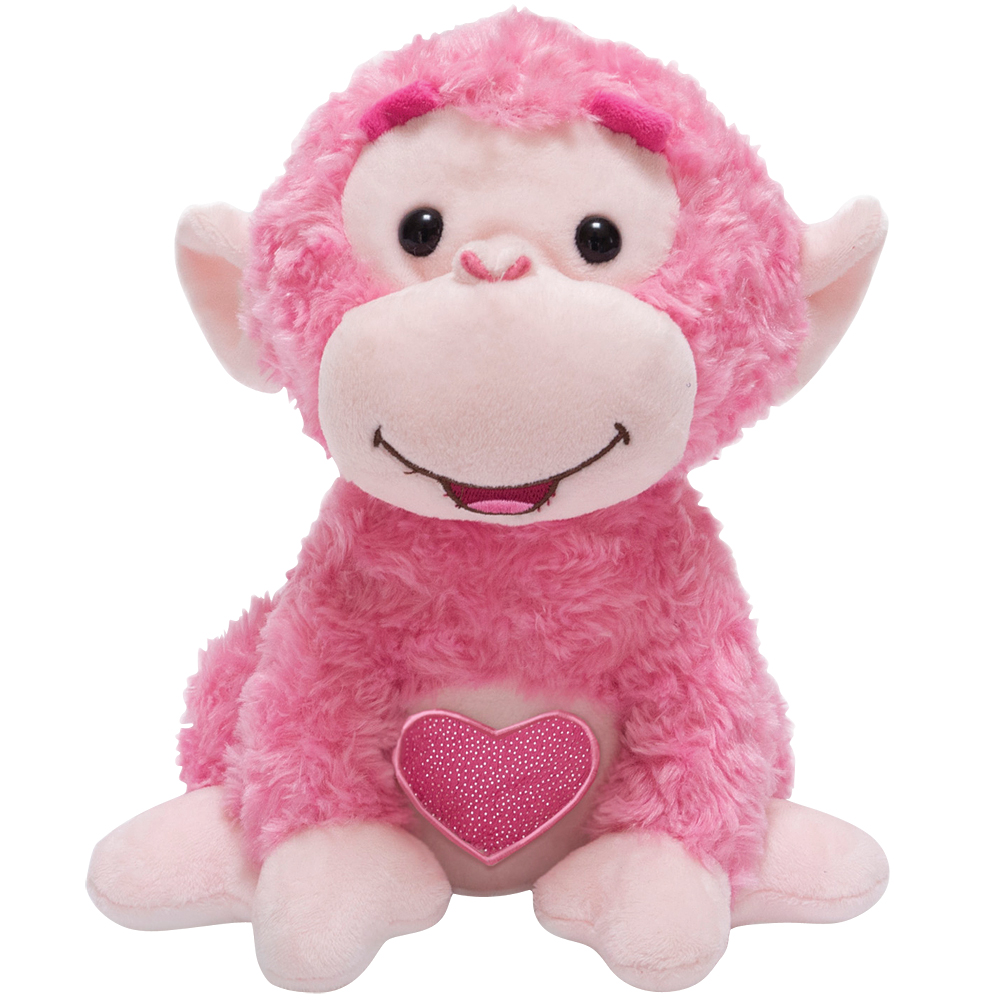 Set Love Me Coco Monkey Plush Valentine S Day Animated
