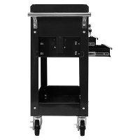 Rolling Mechanics Tool Cart Slide Top Utility Storage ...