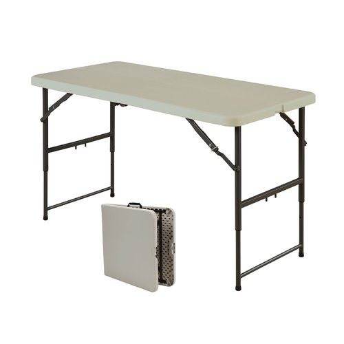 24quot X 48quot Centerfold Blow Mold Folding Table Folds In