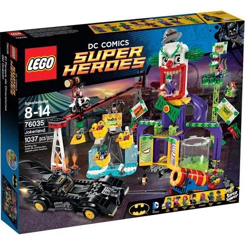 Lego Super Heroes Jokerland Walmart