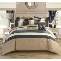 Chic Home Lorena 24-Piece Bed in a Bag Comforter Set ...