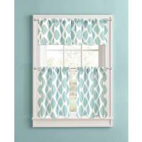 Better Homes and Gardens Aqua Ikat Diamonds Kitchen