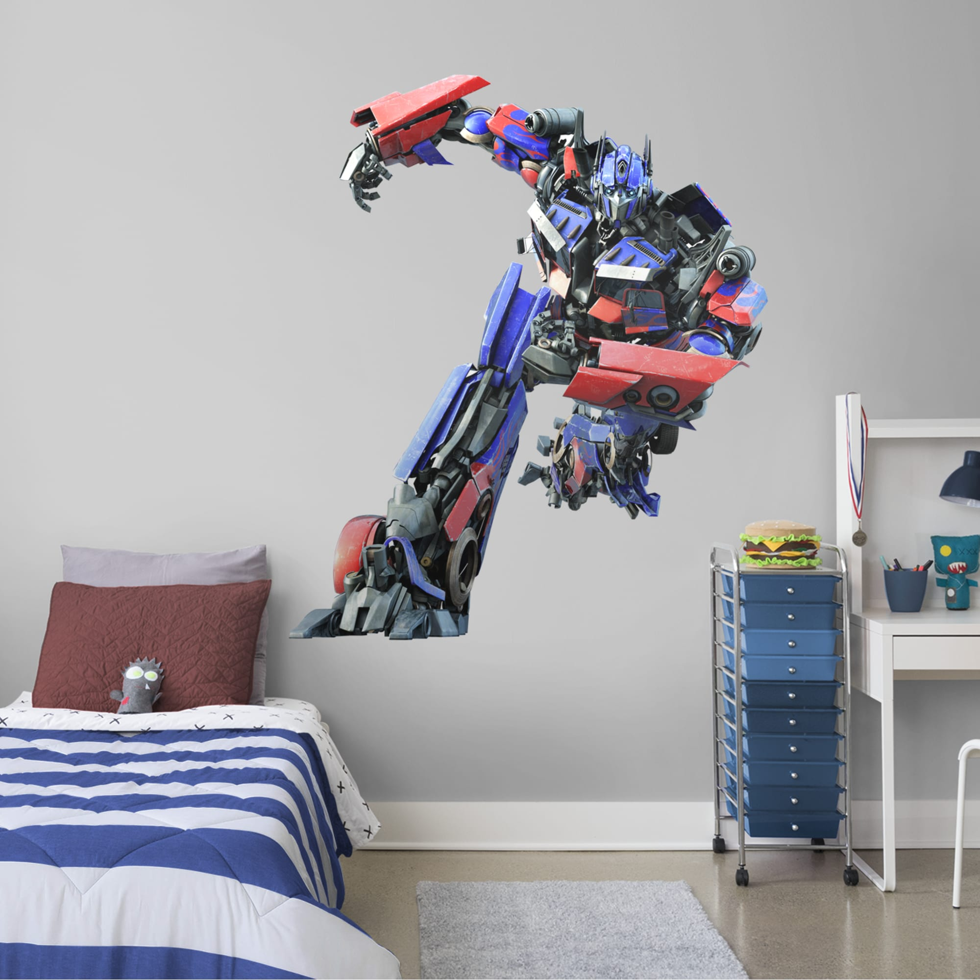 Möbel Wohnen Transformers Removable Wall Stickers Nursery Decor Boys Art Decal Optimus Prime Bioethicskenya Org